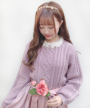 front up (pink beige着用)