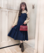 model:153cm (off white着用)