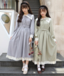 左:162cm(blue gray) / 右:153cm(light green)