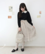 light beige / 162cm