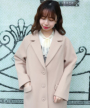 light beige / 158cm